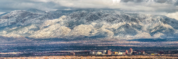 ABQ Winter Panorama