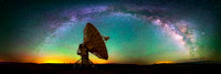 A Cosmic Song - VLA Panorama