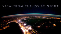 """ View from the ISS at Night """